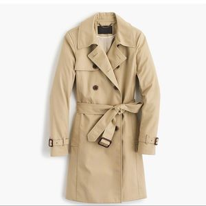 NWOT J. Crew Collection Belted Trench Coat
